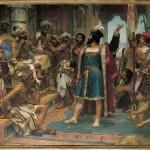 Vasco da Gama e o Samorim de Calecute